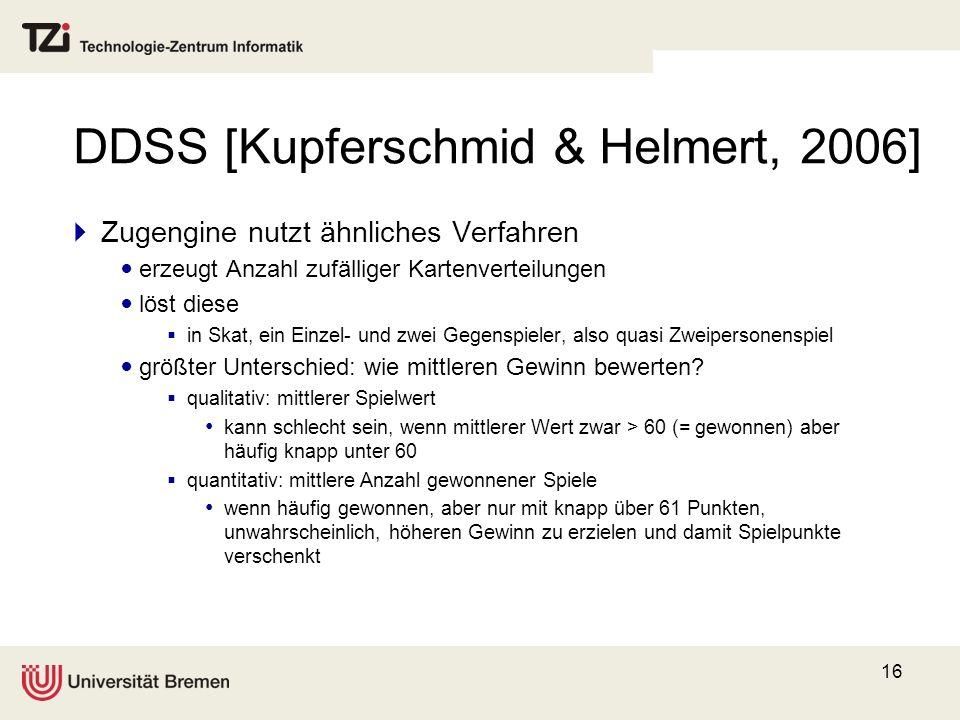 DDSS [Kupferschmid & Helmert, 2006]